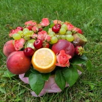 Вкусный фруктовый букет Ассорти на стол №2