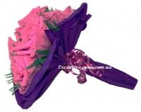 Букет роз из конфет