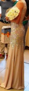 Выпускное, вечернее, свадебное платье в камнях копия jovani и Sherri hill
