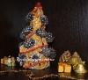Новогодний топиарий. Ароматная елка к новому году с сушенных апельсин.