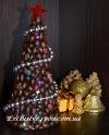 Новогодний топиарий. Ароматная елка к новому году с кофе