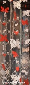 Ажурные бабочки разных размеров и форм