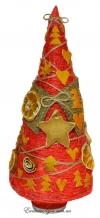 Огненная апельсиновая елочка