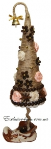 Ароматная декоративная елочка